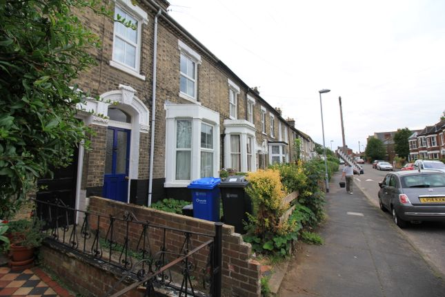 Thumbnail Terraced house to rent in Park Lane, Golden Triangle, Norwich