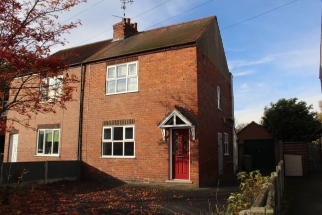 Thumbnail Semi-detached house to rent in Branston Avenue, Farnsfield