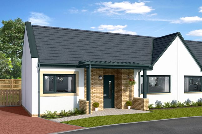 Thumbnail Semi-detached bungalow for sale in The Muirs, Kinross