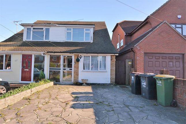 Thumbnail Semi-detached bungalow to rent in York Road, Ashingdon, Rochford
