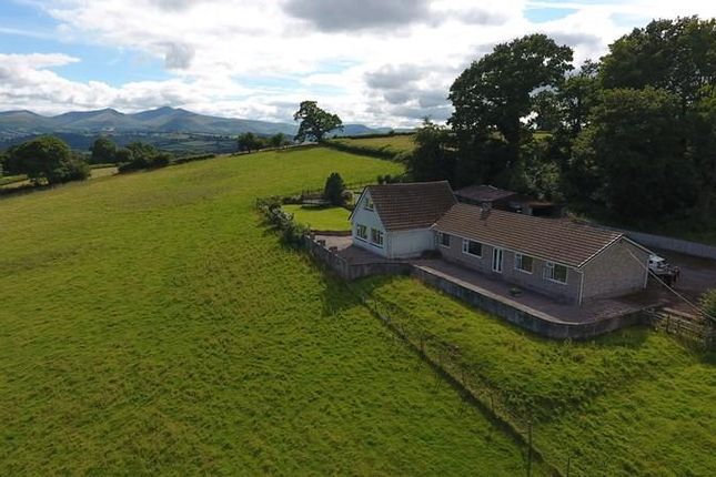 Thumbnail Detached bungalow for sale in Llanddew, Brecon