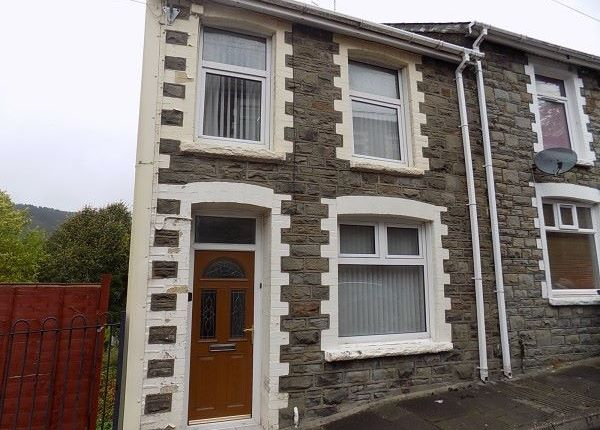 Thumbnail End terrace house for sale in Rhiw Parc Road, Abertillery