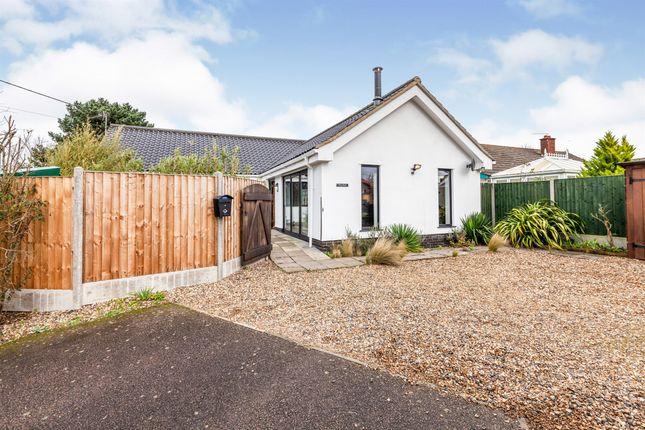 Thumbnail Detached bungalow for sale in Skinners Lane, Metfield, Harleston