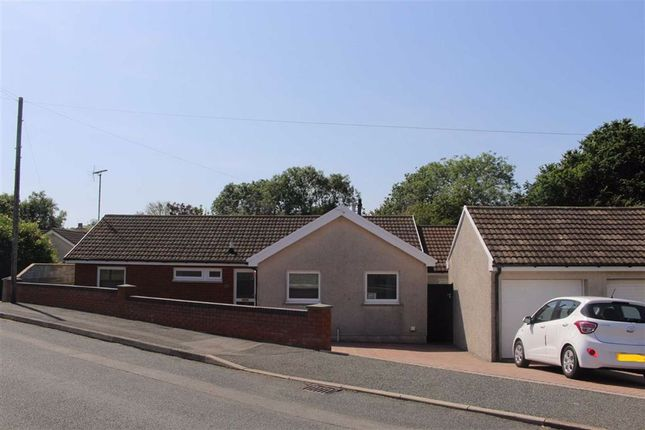Thumbnail Detached bungalow for sale in Camuset Close, Hakin, Milford Haven