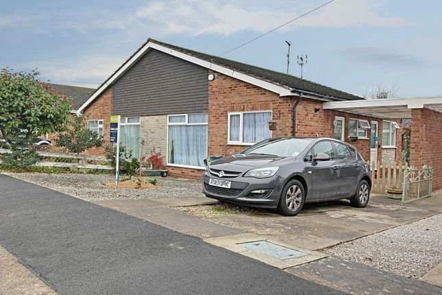 Thumbnail Semi-detached bungalow for sale in Sancton Close, Cottingham