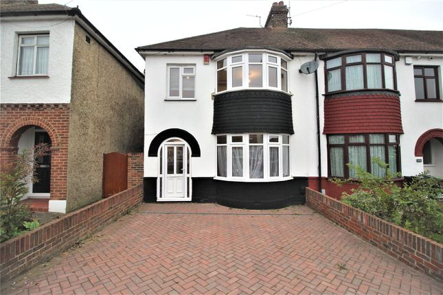 3 bed end terrace house to rent in Abbey Road, Gravesend, Kent DA12