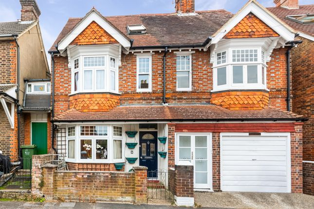 Thumbnail Semi-detached house for sale in Foxenden Road, Guildford