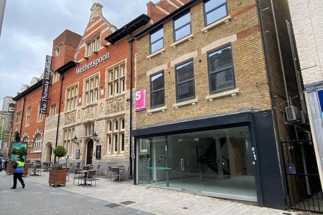 Thumbnail Retail premises to let in Railway Street, Chatham, Kent