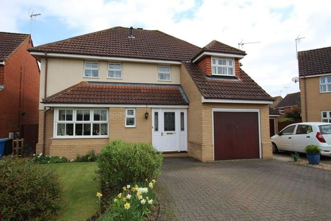 Thumbnail Detached house for sale in Fitzgerald Close, Ely