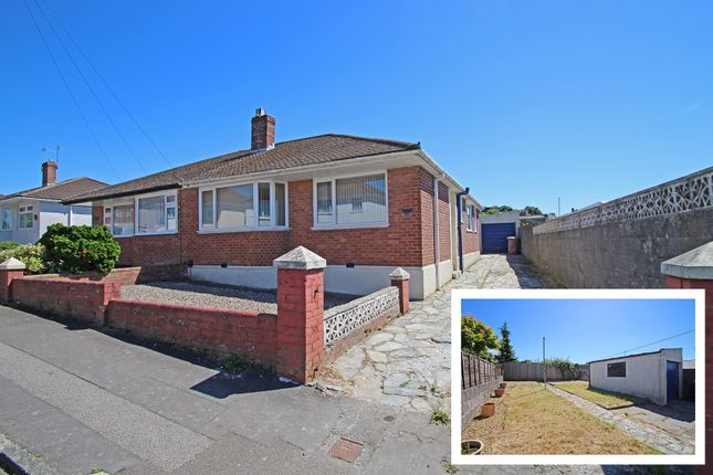 Thumbnail Semi-detached bungalow for sale in Lynwood Avenue, Woodford, Plympton, Plymouth