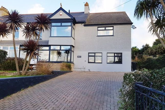 Thumbnail Semi-detached house for sale in Quintrell Road, Newquay