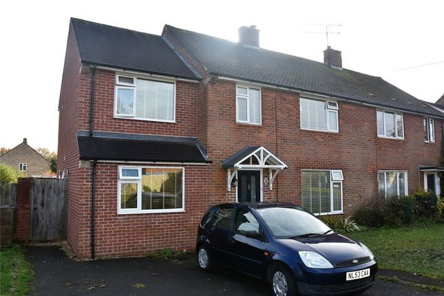 Thumbnail Semi-detached house for sale in Huntsmoor Road, Tadley, Hampshire