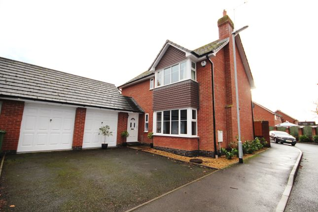Thumbnail Property for sale in Oak Tree Rise, Codsall, Staffordshire