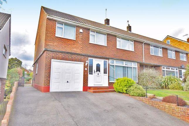 Thumbnail Semi-detached house to rent in Tudor Avenue, Penenden Heath, Maidstone