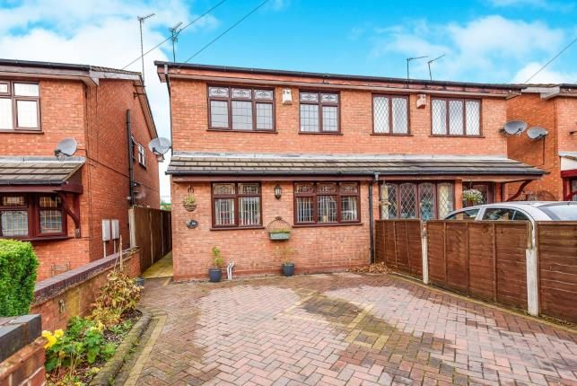 Thumbnail Semi-detached house for sale in Walsingham Street, Chuckery, Walsall
