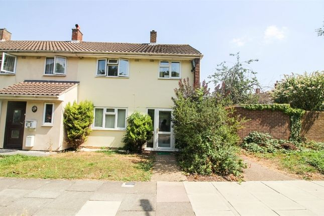 Thumbnail End terrace house to rent in Dovehouse Croft, Harlow, Essex