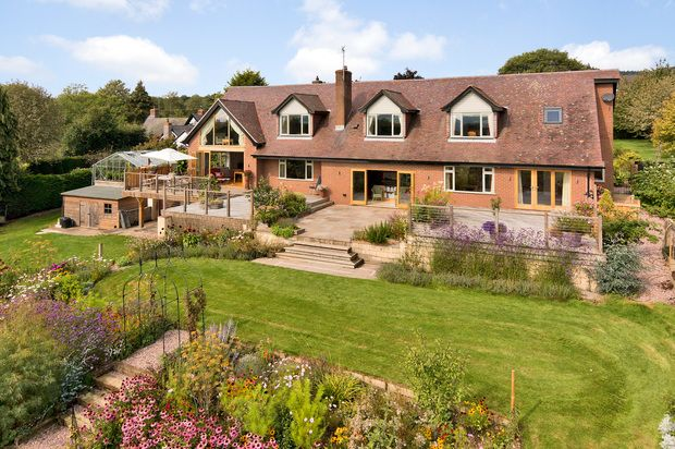 Thumbnail Detached house for sale in Aston Munslow, Craven Arms