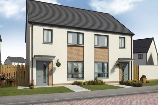 Thumbnail Semi-detached house for sale in Curlers Loan, Stirling