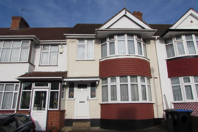 Thumbnail Terraced house for sale in Woodside Avenue, Wembley