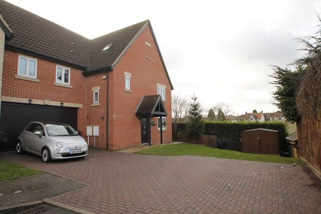 Thumbnail Semi-detached house for sale in Manor Court, Rushden