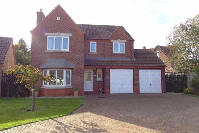 Thumbnail Detached house for sale in Beech Close, Heckington, Sleaford