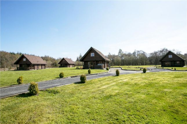 Thumbnail Leisure/hospitality for sale in Benview Lodges, Ward Toll Balfron Station, Gartmore, Glasgow