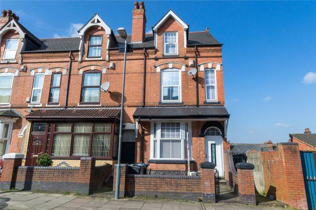 Thumbnail End terrace house for sale in Oakfield Road, Balsall Heath, Birmingham, West Midlands