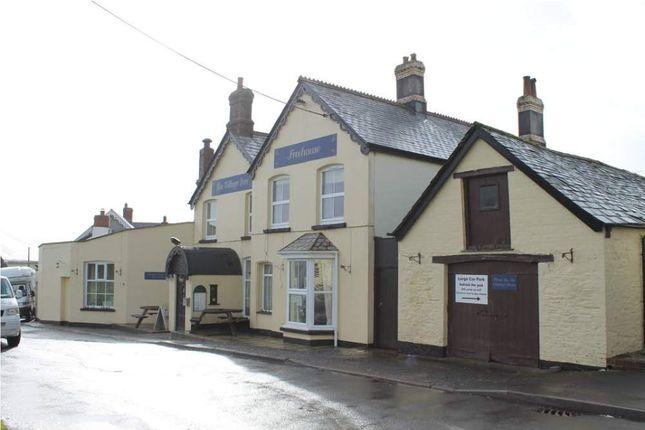 Thumbnail Pub/bar for sale in The Village Inn, Ashwater