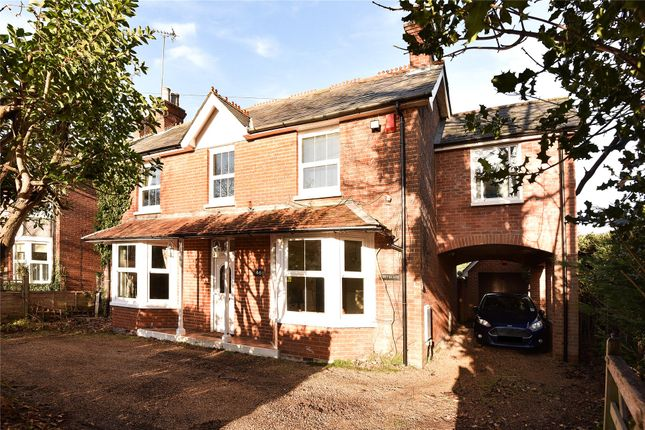 Thumbnail Detached house for sale in Reading Road, Blackwater, Camberley
