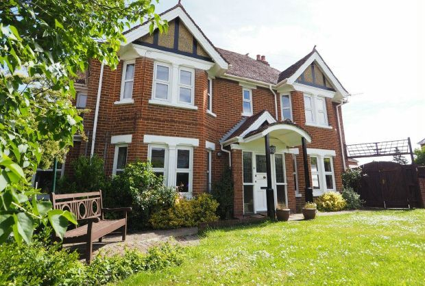 Thumbnail Detached house for sale in Harnham, Salisbury, Wiltshire