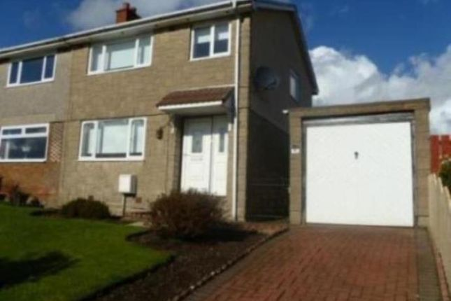 Thumbnail Semi-detached house to rent in Glenview Crescent, Moodiesburn, Glasgow
