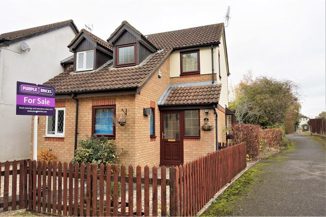 Thumbnail End terrace house for sale in Jersey Park, Swindon