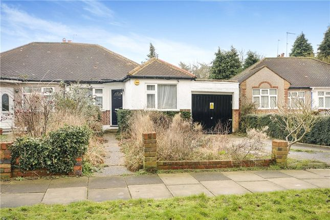 Thumbnail Semi-detached bungalow for sale in Gerrard Gardens, Pinner, Middlesex