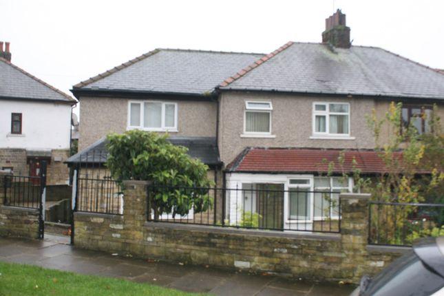 Thumbnail Semi-detached house for sale in Lingwood Avenue, Bradford