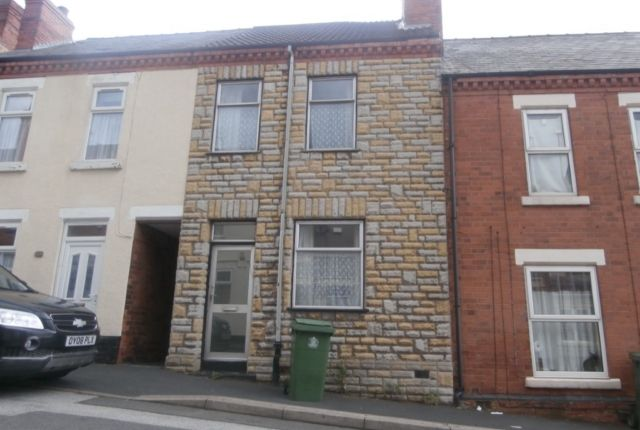 Thumbnail Terraced house to rent in Linden Street, Mansfield