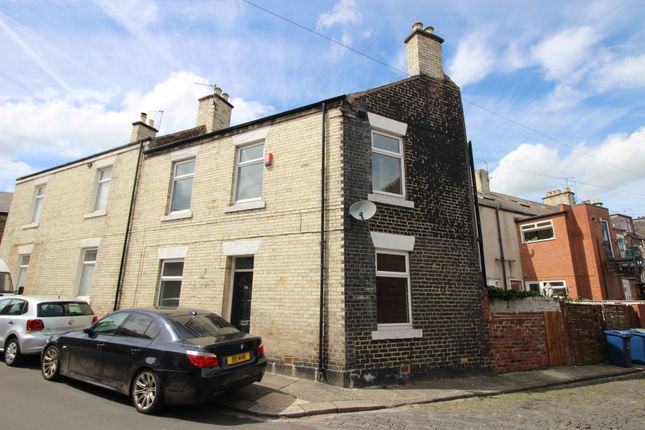 Thumbnail 2 bed end terrace house for sale in Bowsden Terrace, South Gosforth