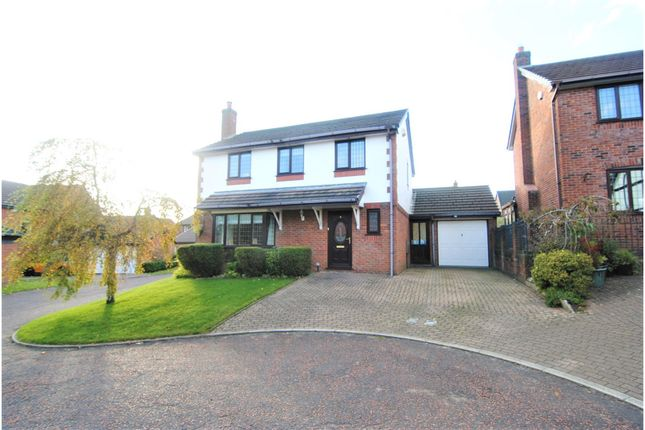 Thumbnail Detached house for sale in Chatsworth Court, Chorley