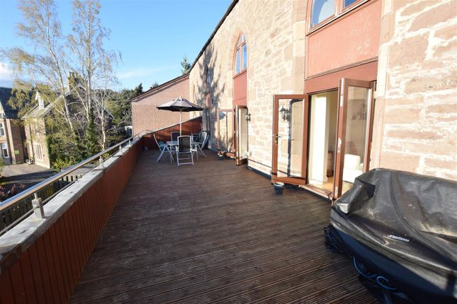 Thumbnail Flat for sale in Heathcote Road, Crieff