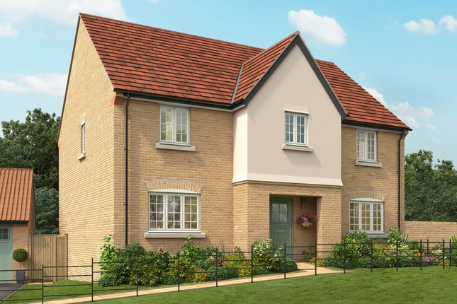 "Thumbnail Detached house for sale in ""The Polesden"" at Isemill Road, Burton Latimer, Kettering"