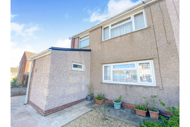 3 bed semi-detached house for sale in Upton Place, Beddau, Pontypridd CF38