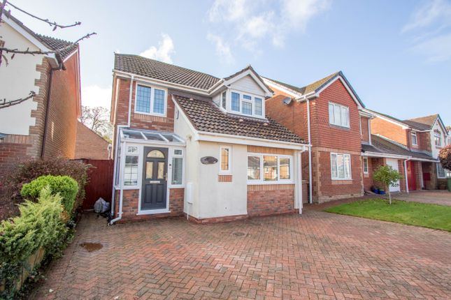 Thumbnail 4 bed detached house for sale in Trewithy Drive, Crownhill, Plymouth