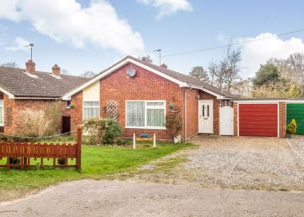 Thumbnail Bungalow for sale in Filby, Great Yarmouth, Norfolk