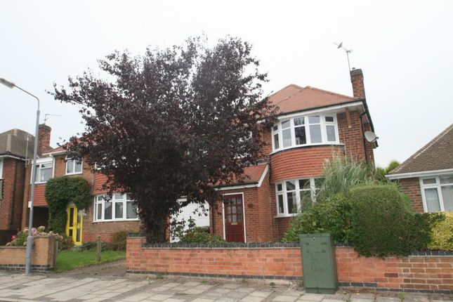 Thumbnail Detached house to rent in Salcombe Drive, Redhill, Nottingham