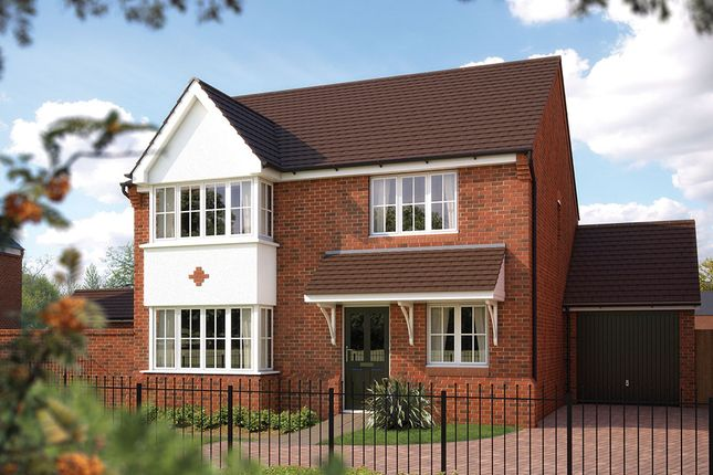 "Thumbnail Detached house for sale in ""The Canterbury"" at Bowbrook, Shrewsbury"