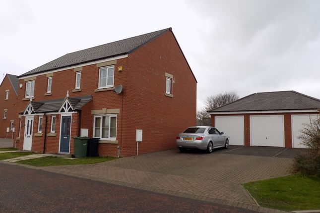 Thumbnail Semi-detached house to rent in Barnwell View, Herrington Burn, Houghton Le Spring