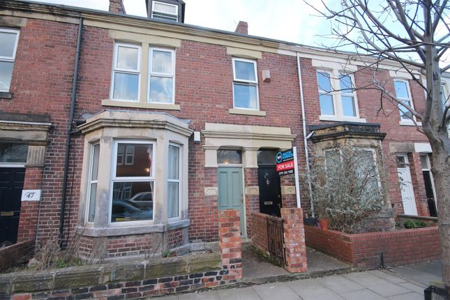 Thumbnail Maisonette for sale in Mundella Terrace, Heaton, Newcastle Upon Tyne