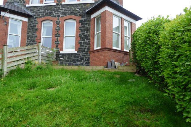 Thumbnail Flat to rent in Ground Floor Flat, Nythfa, Esplanade, Penmaenmawr