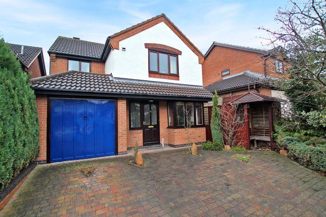 Thumbnail Detached house for sale in Avonbridge Close, Arnold, Nottingham