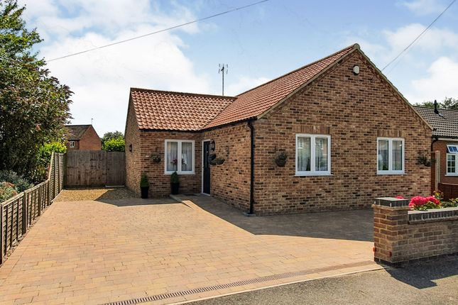 Thumbnail Detached bungalow for sale in March Road, Friday Bridge, Wisbech