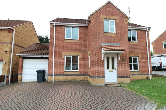 Thumbnail Detached house to rent in Swallow Crescent, Rawmarsh, Rotherham, South Yorkshire